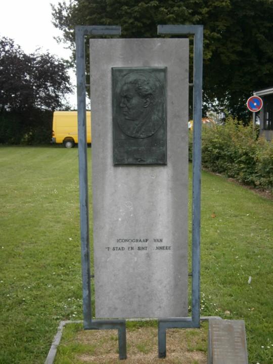Afbeeldingsresultaat voor gedenkplaat jaak gorus op linkeroever van alfons van camp