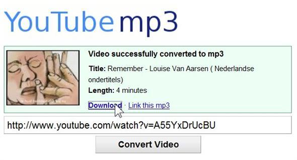 liedjes kopiëren van youtube