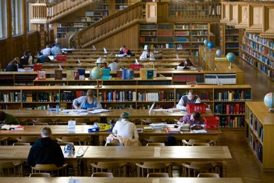 belle en het beest bibliotheek