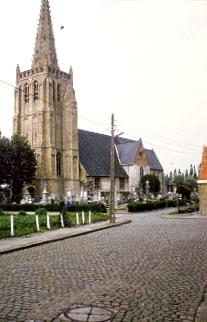 De kerk te Beauvoorde
