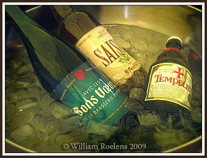 drie flessen wijn per dag