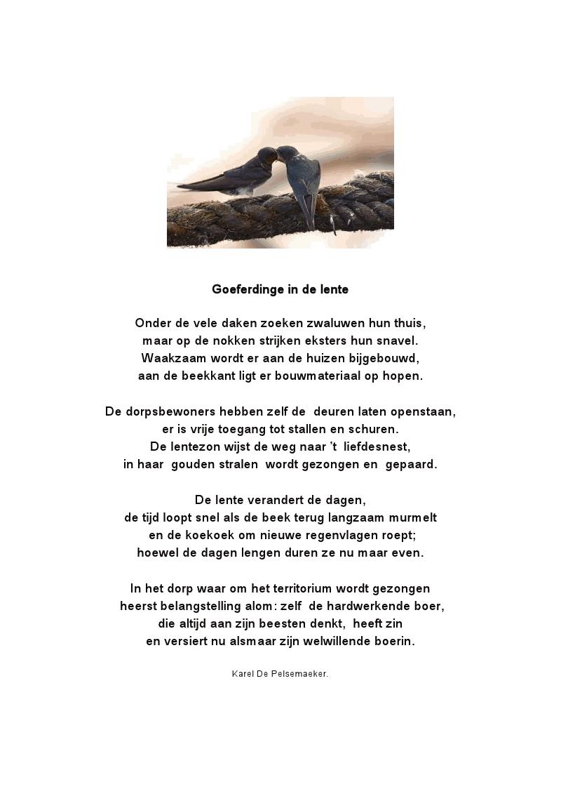 De Dauwbloesemtuin