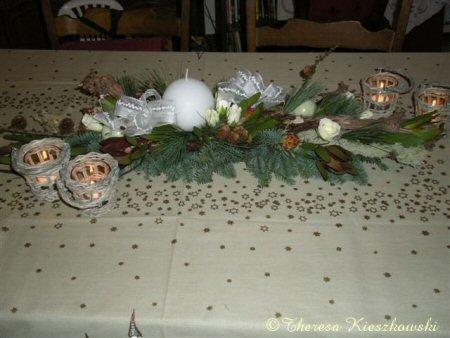 Tafeldecoratie kerst goud