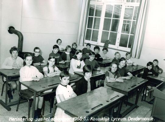 R L Goossens Schooljaar 1966-67 - V...