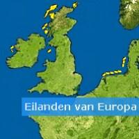 Eilanden van Europa