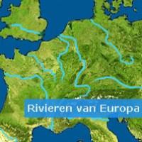 Rivieren van Europa