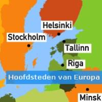 Hoofdsteden van Europa