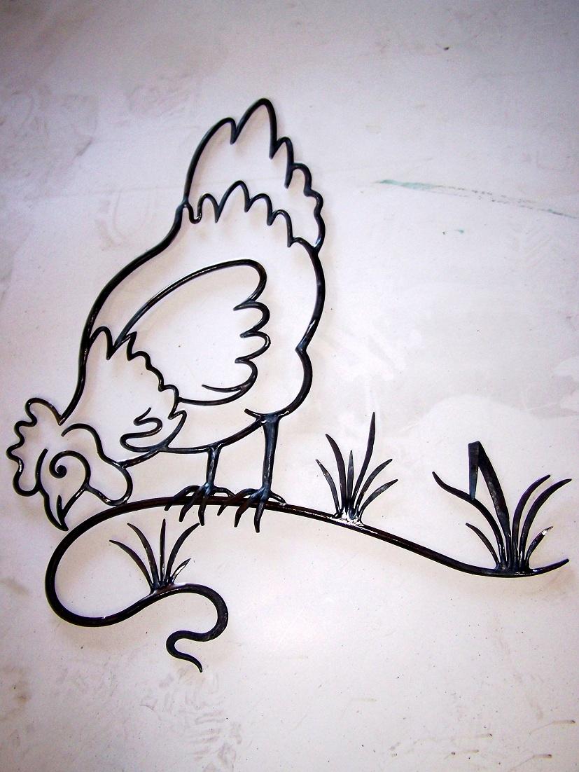 ... 2007 om 00 00 geschreven door eric tags smeedijzer kip muurdecoratie