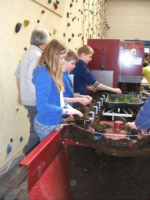 Er waren tientallen workshops waar de leerlingen verschillende