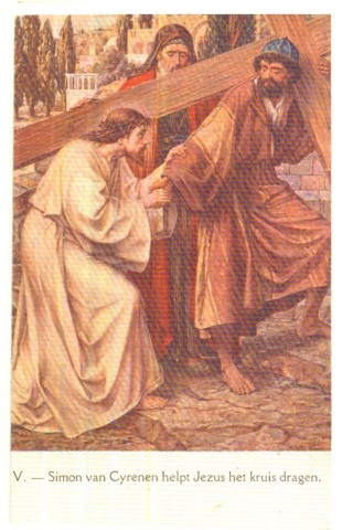 kruis dragen jezus