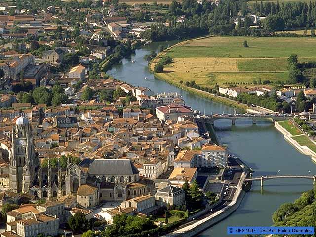 Saintes France  city photo : Pedro op weg naar en terug thuis van een... pelgrimsfietstocht naar ...