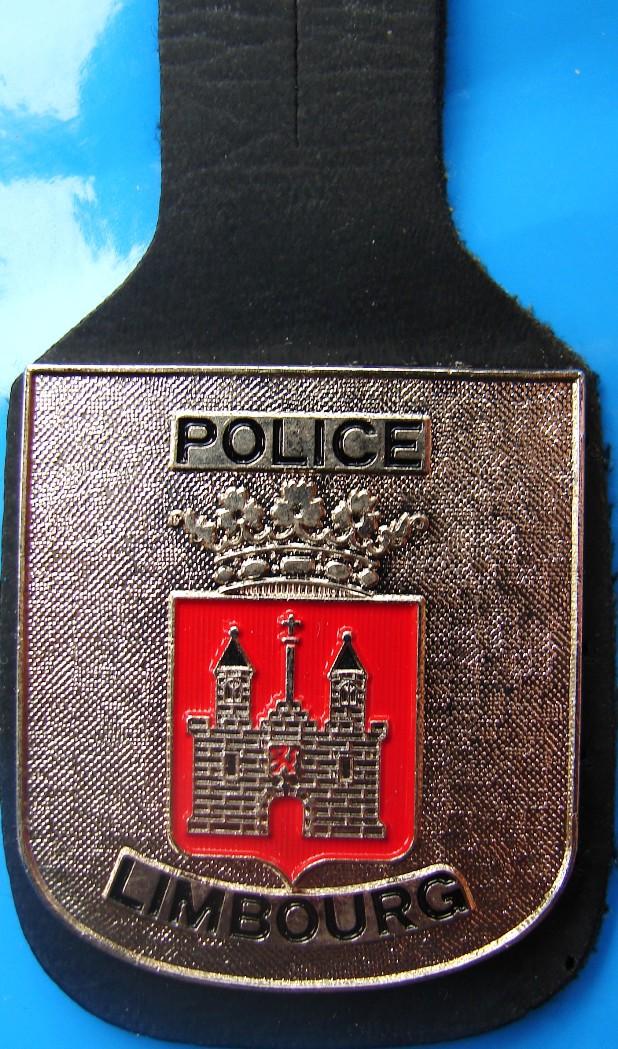 breloques insignes de police province de liege politie borsthangers kentekens provincie luik. Black Bedroom Furniture Sets. Home Design Ideas