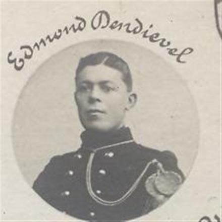 Edmond Dendievel zoon van Charel en Elodie vVandevenne