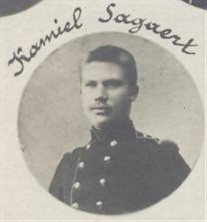 Sagaert  Ziekenoppasser(infermier overleden in het militaire hospitaal (milt) mei 1916