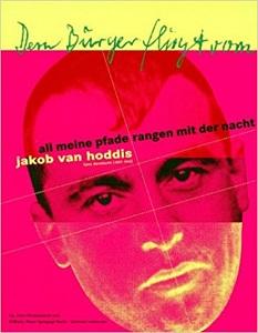 5dfbf67fba7ce8 Jakob van Hoddis (16 mei 1887 – mei juni   1942) Cover van een  tentoonstellingscatalogus