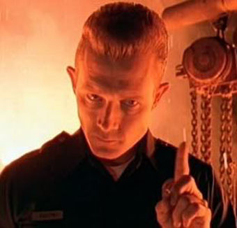 The T-1000 is portrayed primarily by. Terminator 2 Judgment Day