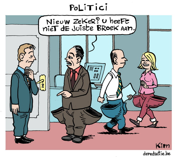 Afbeeldingsresultaat voor grappige afbeeldingen Belgische politiek