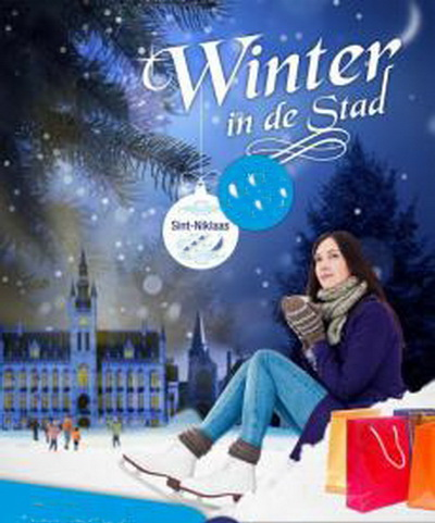 Afbeelding Winter in de stad