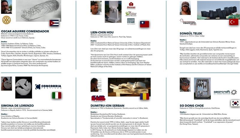 05ece45d535 OSCAR AGUIRRE COMENDADOR (Cuba), SONGUL TELEK (Turkije), SO DONG CHOE  (Zuid-Korea), SIMONA DE LORENZO (Italië), LIEN-CHIN HOU (Taiwan),  DUMITRU-ION SERBAN ...