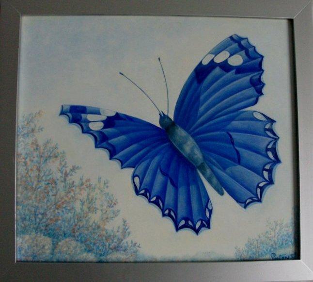 Butterfly board cock