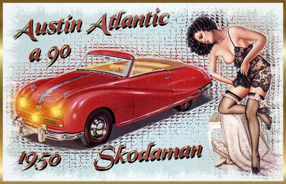 Austin A9 Atlantic Convertible
